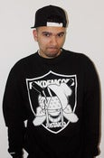 Image of JOSTAKID# X FOKDEMCOPS U.O.C. RAIDERS SWEATER