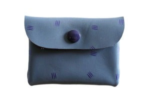 Image of Card Holder- Light Purple with Purple Claws