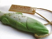 Image of Trout Soap on a Rope - Eucalyptus & Peppermint