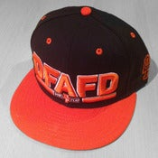 Image of Snapback (Orange/Navy)