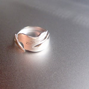 Image of The Little Mermaid - Handmade Sterling Silver Ring