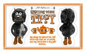 "Image of ""Teatime With Tippy"" Tea Towel"