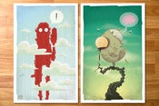 Image of Tanoshiboy Poster Print 2 Pack