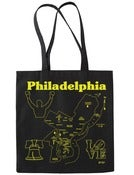 Image of Philadelphia Map Tote