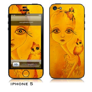 Image of Iphone 5 skin - &quot;Through the Cracks&quot;