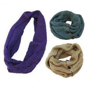 Image of HURI Cable Wrap Scarf