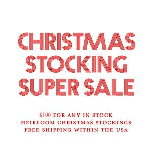 Image of Christmas Stocking Super Sale
