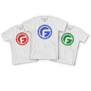 "Image of Ground Fighter ""The Icon"" Shirt - White (Kids)"