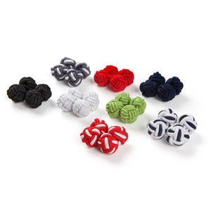 Image of Silk Knot Cufflinks