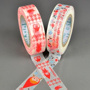 Image of Little Red Hood Washi Tape