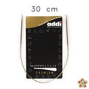 Image of Addi Premium 30 cm -Agujas circulares fijas / Fixed knitting needles