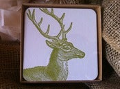 Image of Coasters: Vintage Deer