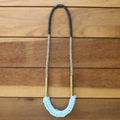 Image of Knit Section Necklaces
