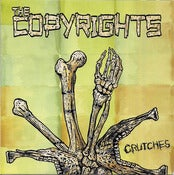"Image of The Copyrights - Crutches 7"" (Black or White vinyl)"