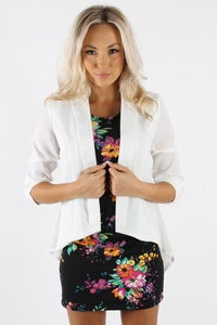 Image of ISIS SHEER STRUCTURED BLAZER