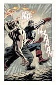Image of Captain America &amp; Bucky #622, Page 18 Monoprint