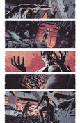Image of Winter Soldier #6, Page 5 Monoprint