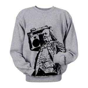 Image of Ben Jammin' Crewneck (Grey)