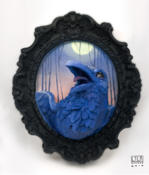 Image of The Raven (in blue)