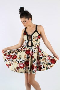 Image of TAPESTRY FLORAL DRESS 