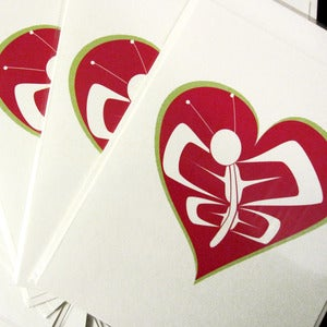 Image of Butterfly Heart Gift Card