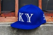 Image of 40 OZ VAN X KY snapback blue