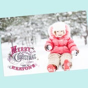 Image of Sweet Winter Wonderland Printable Christmas Card