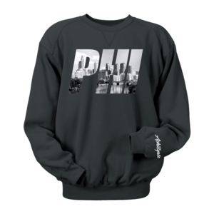 Image of PHI Photo Crewneck (Black)