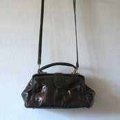 Image of Black Eel Skin Purse
