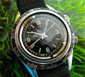 Image of LE JOUR SONOLARM STEEL MANUAL w/TIDES BEZEL - SOLD!