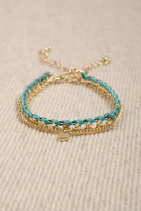 Friendship braid bracelet