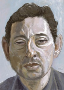 Image of Lucien: portrait of Serge Gainsbourg (signed print)