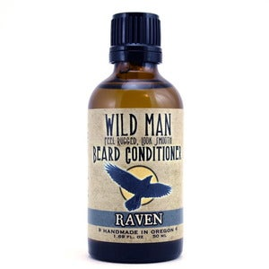 Image of WIld Man Beard Conditioner - Raven - 50ml
