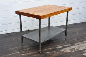 Image of Butcher Block Table