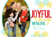 Image of Joyful Tidings Holiday Card