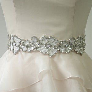 Image of Crystal Petals Belt