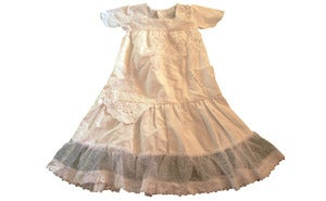 Image of White special dress size 5 to 6 years