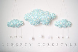 Image of  Mobile OH Nuage en véritable Liberty Lifestyle (2 tailles baby cloud et cloud jr)