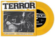 Image of Terror &quot;Hard Lessons&quot; 7&quot; Gold Vinyl