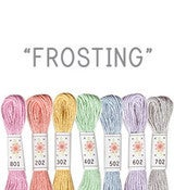 Image of Sublime Stitching's 6 pack of Embroidery Floss - Frosting