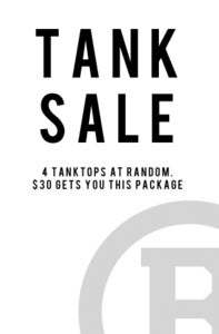 Image of Tank Top Sale