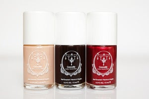 Image of Coccolily Classic  Trio Nail Polish Collection