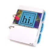 Image of {A Note to Say Hi} – Card & Letter Holding Journal