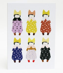 Image of Babettes greeting card