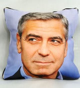 "Image of ""SOLD OUT"" George Clooney Art Pillows"