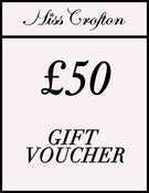 Image of Miss Crofton £50 gift voucher