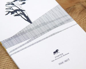 Image of SALE: 2013 Vortex Letterpress Calendar Flat