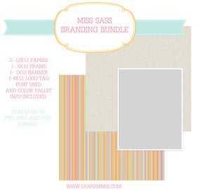 Image of Miss Sass Branding Bundle