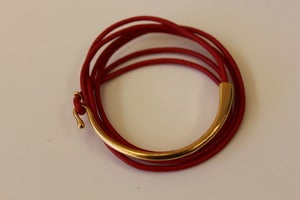 Image of ADA Leather Hook Bracelet