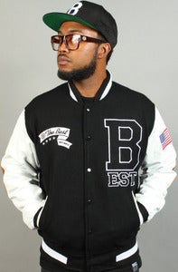 Image of BEST B Team Letterman Black